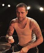 Drummer Erik Sandin of NOFX