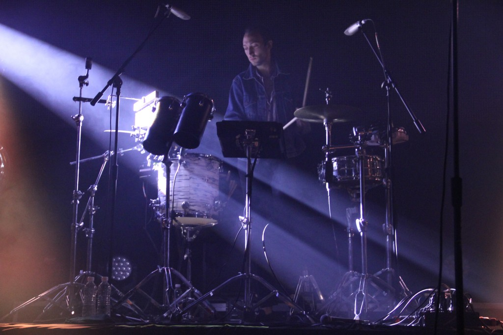 Drummer Cale Parks of Yeasayer