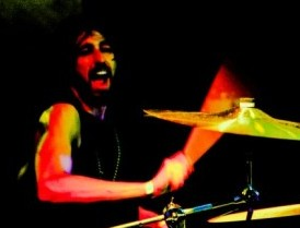 Drummer David Halicky of The Vim Dicta