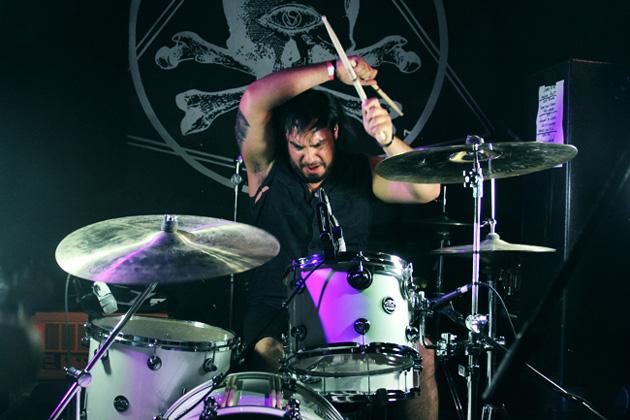 Drummer Frank Godla of Meek Is Murder