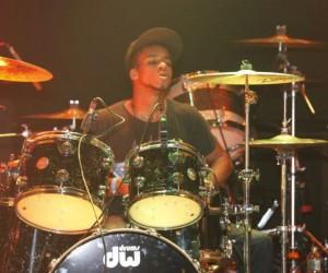 Drummer Marcus James of Super Prime