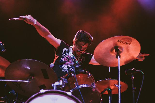 drummer Evan Sult of Sleepy Kitty