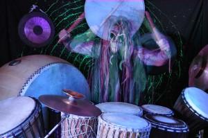 Drummer Shawn Bowen of Didges Christ SuperDrum and World Collision