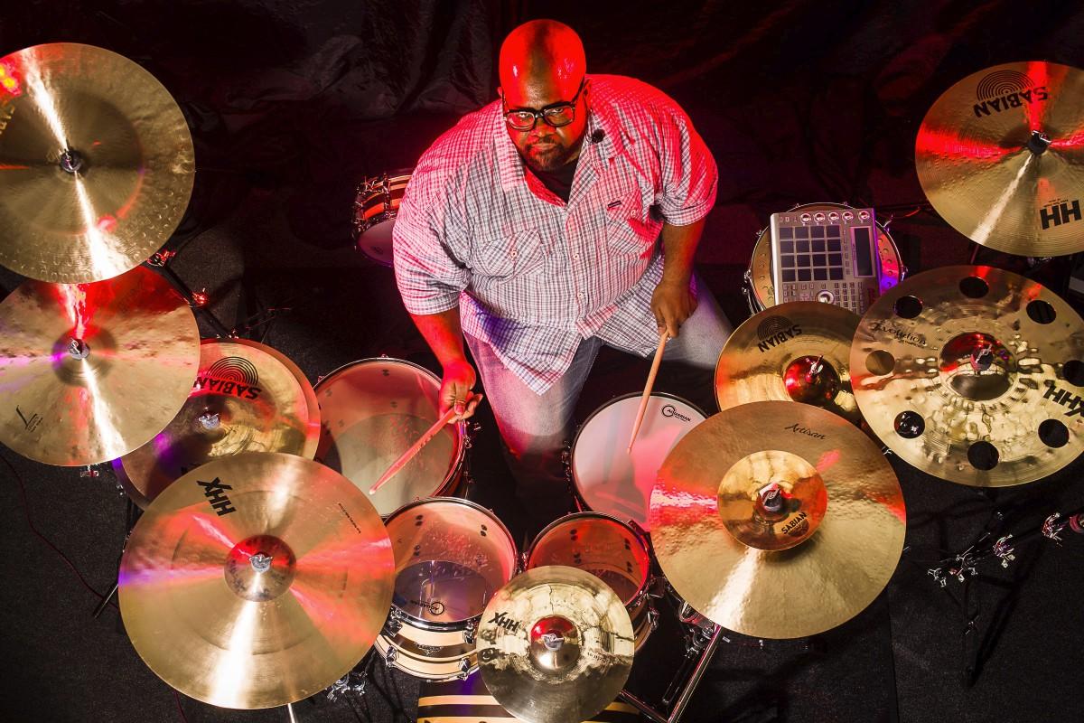 "Drummer Blog: Dre ""Energy"" Boyd Checks in From Cirque du Soleil"