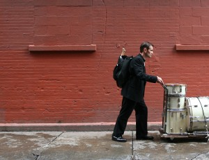 Dave Ratajczak, actor in the Short Film The Drummer