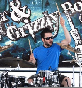 Drummer Joe Connolly of Gunnar & the Grizzly Boys