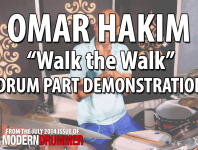 "<b>Omar Hakim Video ""Walk the Walk"" Drum Part Demonstration</b>"