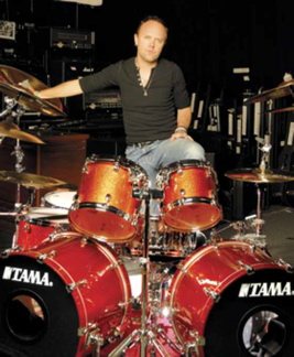 Lars Ulrich : Modern Drummer
