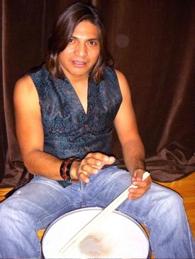 Hawk Lopez of Crown Of Thorns : Modern Drummer