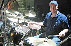 Drummer Kevin Johnson