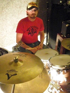 Drummer Pat O'Shea