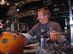 Dave McAfee of Toby Keith : Modern Drummer