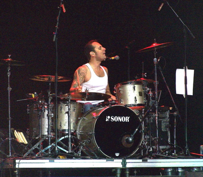 Dave Minarik of The Clarks : Modern Drummer