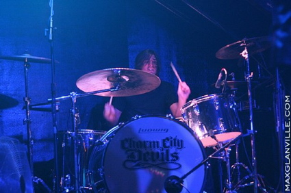 Jason Heiser of Charm City Devils : Modern Drummer