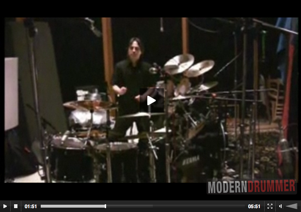 Dave Lombardo Drum Tour Part 2 Video : Modern Drummer