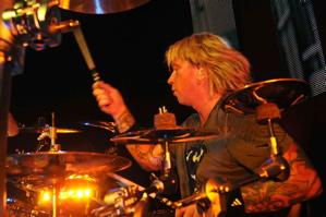 Drummmer Jon Wysocki of Staind