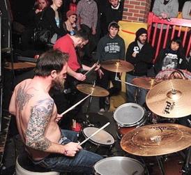 Tim Meehan of the_Network : Modern Drummer
