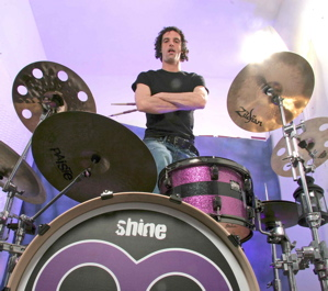 Gregory Nash of Ten Year Vamp : Modern Drummer