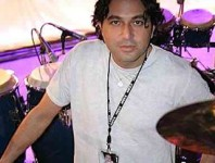 <b>Percussionist Ramon Yslas </b>