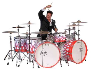 "Steve Moore ""The Mad Drummer"""