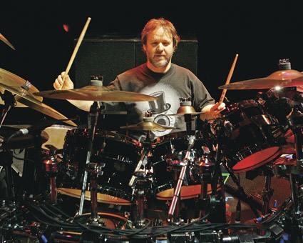 Jon Fishman : Modern Drummer