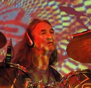 Richard Chadwick of Hawkwind : Modern Drummer