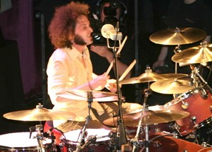 Drummer Kevin Figueiredo of Extreme