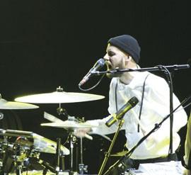 Peter Bjorn And John's John Eriksson Modern Drummer