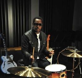 Steve Jordan in Modern Drummer Magazine