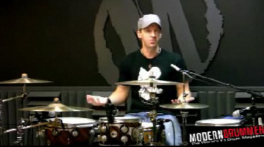 Mike Johnston Video for Modern Drummer