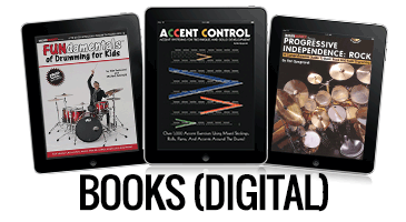 Digital Books from Modern Drummer magazine