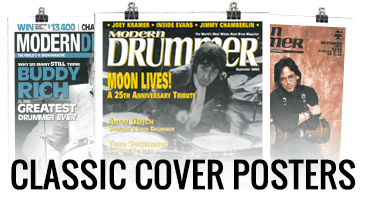 Modern Drummer Classic Cover Posters