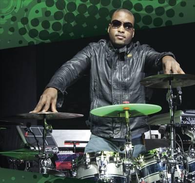 The Black Eyed Peas' Keith Harris in Modern Drummer Magazine