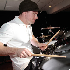 Chris Pennie in the March 2011 edition of Modern Drummer Magazine