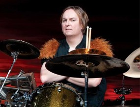 Dale Crover of the Melvins in Modern Drummer Magazine