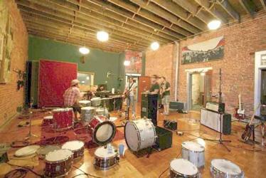 Ryan Pope Blacklodge recording studio - Modern Drummer Drum Blogs