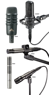 Audio-Technica Mics