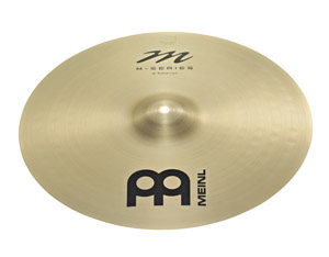 Listen to sound files of Meinl M-Series cymbals.