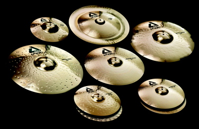 Listen to sound files of Paiste's Alpha Brilliant Metal models cymbals.