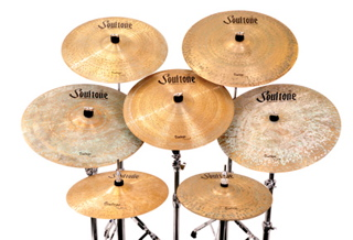 Listen to sound files of Soultone Vintage Old School cymbals and Joyful Noise Elite series snares.