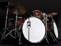 Listen to a Sound File of Mapex's Black Panther Blaster Drumset