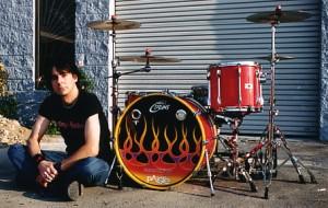 Drummer/Drum Tech Tod T. Burr