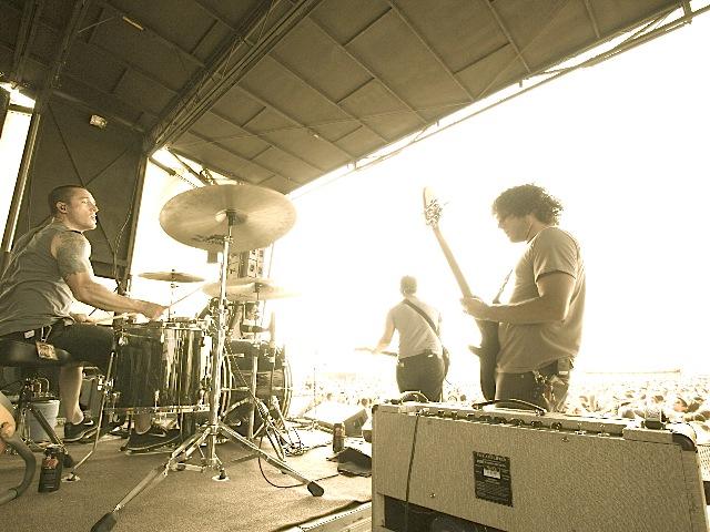 Riley Breckenridge of Thrice on Modern Drummer
