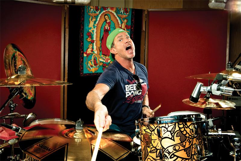 Drummer Chad Smith