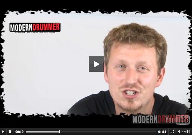 Florian Alexandru-Zorn : Modern Drummer