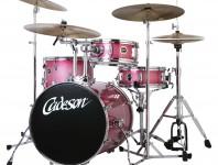 <b>Cadeson Nagashi Compact Drumset</b>