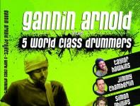 Gannin Arnold Project5 World Class Drummers