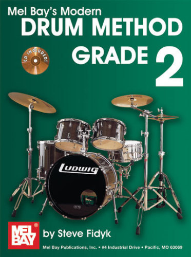 Online Review Mel Bay's Modern Drum Method Grade 2 Book