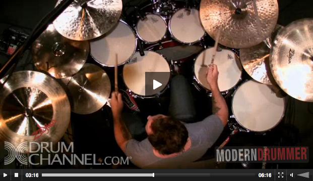 Jimmy Chamberlin on Modern Drummer