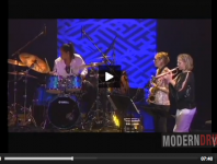 "Terri Lyne Carrington Performs ""Mosaic Triad"" at the Tokyo Ja..."